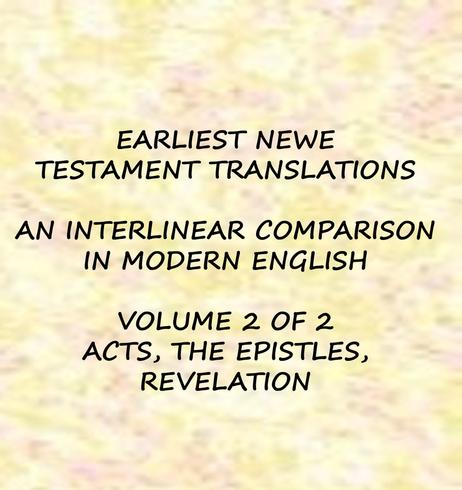 New Testament Translations vol 2